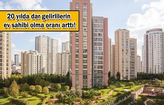 Türkiye'deki vatandaşların yüzde 60.4'ü ev sahibi!