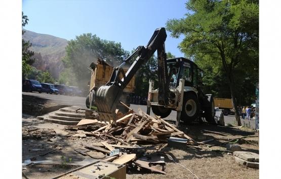Kapadokya yıkım