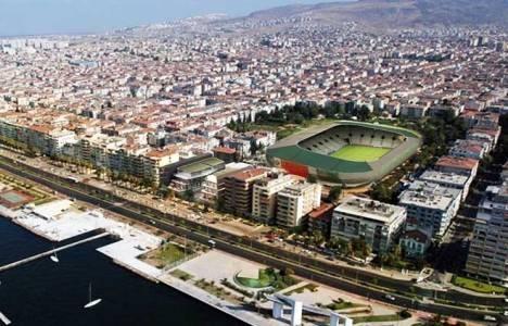 Karşıyaka Stadı'nda imar planı değişiyor!