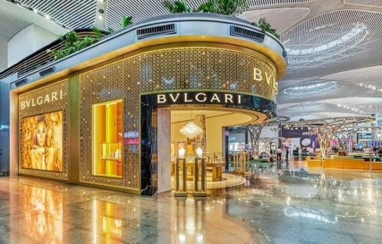 Bvlgarı, İstanbul Havalimanı'nda