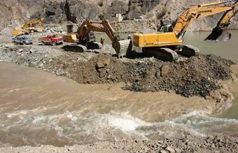 Yusufeli Barajı'nda çalışmalar tüm hızıyla sürüyor!
