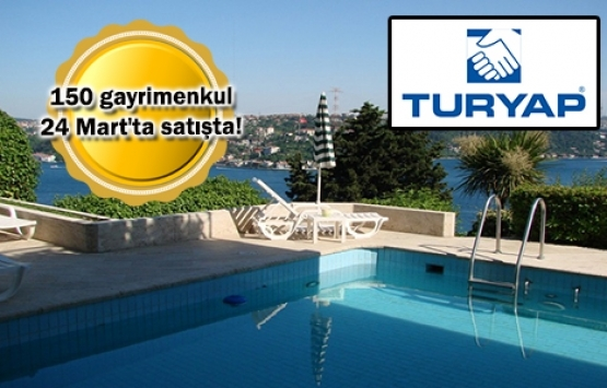 TURYAP'tan 500 TL katılımla emlak festivali!