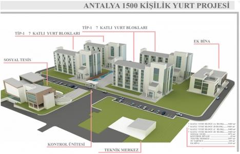 Çevre Bakanlığı Antalya'ya yurt inşa etti!