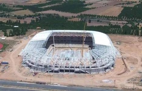 Malatya Arena Stadı'nın yüzde 75'i tamamlandı!