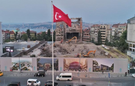 AKM'nin yıkımında sona