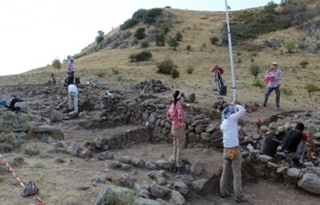 Yozgat Pteria Antik Kenti'nde kazı çalışmaları tamamlandı!