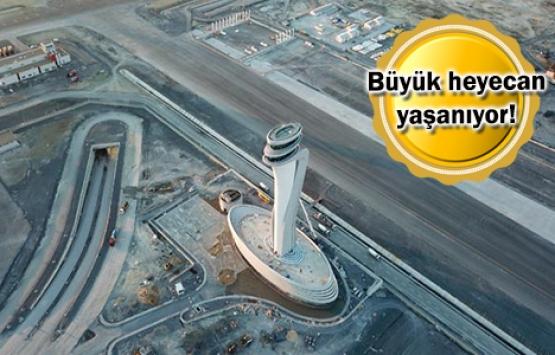 İstanbul Yeni Havalimanı'da