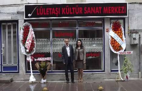 Eskişehir'de Lületaşı Kültür Sanat Merkezi açıldı!