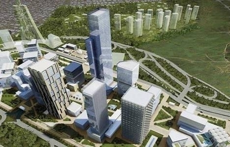 İstanbul Finans Merkezi'ndeki