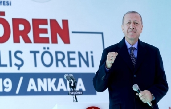 Cumhurbaşkanı Erdoğan: Keçiören'de 451 kişi ev sahibi oldu!