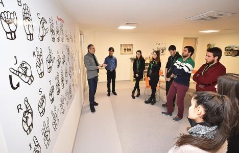Mimar adaylarından İzmir Engelli Farkındalık Merkezi'ne ziyaret!