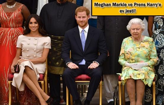 Kraliçe Elizabeth'ten muhteşem ev hediyesi!