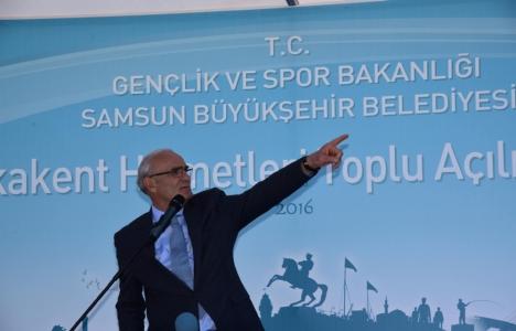 Samsun Yakakent'e arıtma