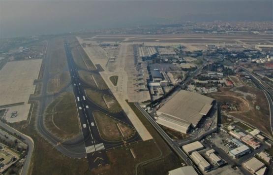 Atatürk Havalimanı'nın kar