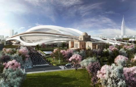 Hadid'in Tokyo Olimpiyat Stadyumu Tasarımına Japon Mimarlar itiraz etti!