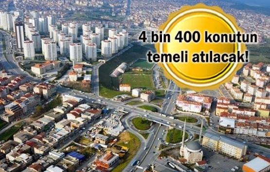 Gaziosmanpaşa'ya kentsel dönüşüm