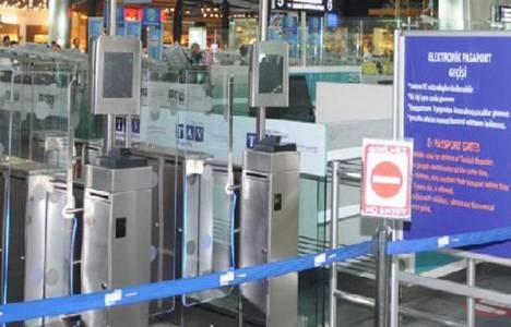 Türkiye'de bir ilk pasaport kontrol işlemleri 15 saniyede yapılacak!