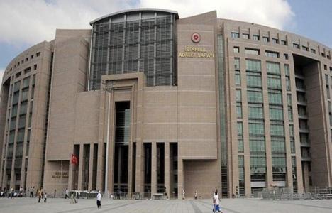İstanbul Adalet Sarayı'nda