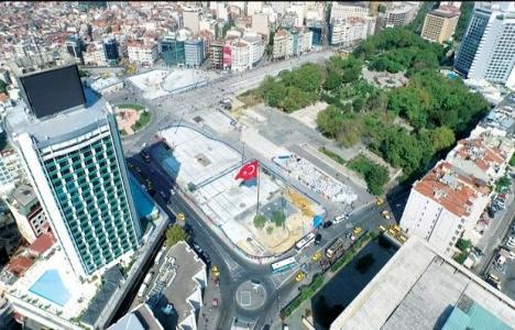 Taksim Meydanı düzenleme