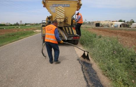 Şanlıurfa Eyyübiye'deki kırsal bölgelerde ulaşım sorunları ortadan kaldırılıyor!