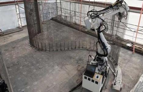 İsviçre'de robot ve 3D yazıcı kullanarak ev yapıyorlar!