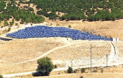 Güneş enerjisi santrallerinin arazisi hazır, ihale bekleniyor!