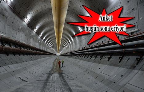 Avrasya Tüneli projesinde son 10 gün!