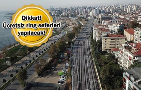 Gebze-Halkalı Marmaray Hattı'nda test sürüşleri başlıyor!