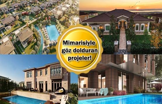 İstanbul'da villa konseptindeki 8 konut projesi!