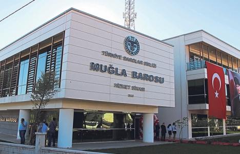 Muğla Barosu'nun yeni binası açıldı!