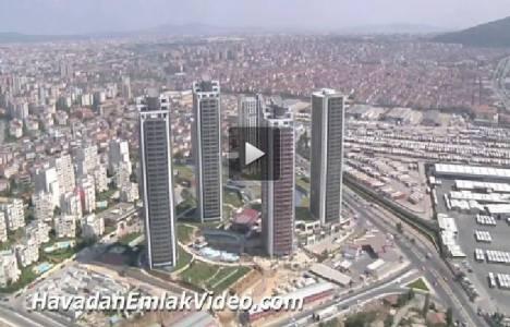 Ataşehir Brandium Evleri'nin havadan son görüntüleri!