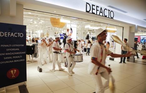 DeFacto yurtdışındaki mağaza