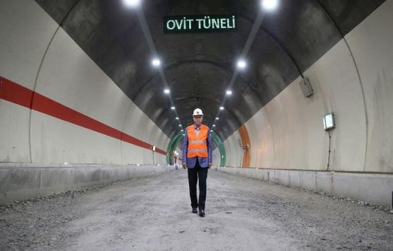 Ovit Tüneli bugün açılıyor!