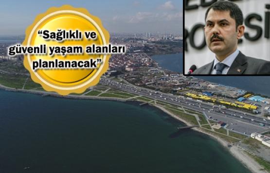 Kanal İstanbul'da yatay