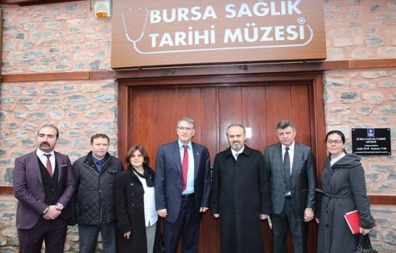Bursa Sağlık Tarihi Müzesi açılış için gün sayıyor!
