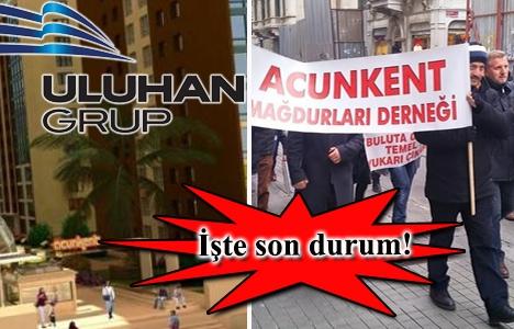 Acunkent Mağdurları Derneği Uluhan Grup'la görüştü!