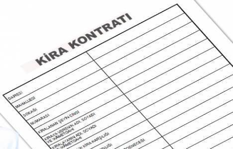 Kira kontratı örneği