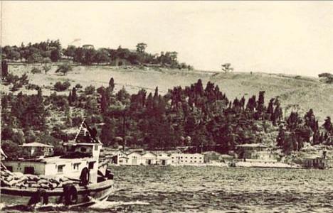 1936 yılında Boğaziçi'ne
