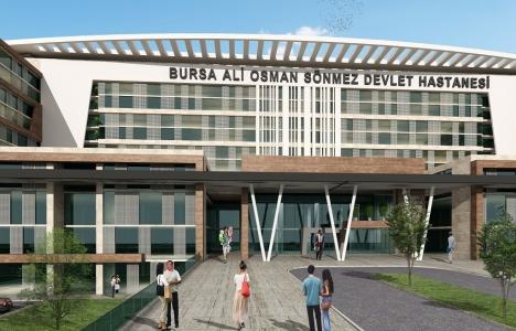 Bursa Ali Osman Sönmez Devlet Hastanesi 2019'da açılacak!