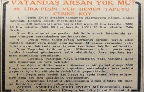 1951 yılında İstanbul'da
