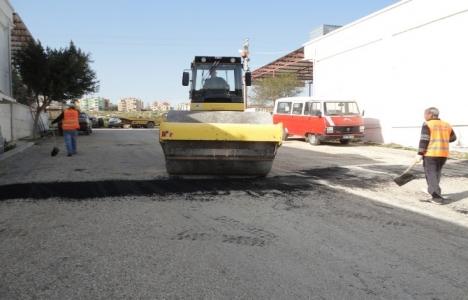 Silifke'de asfalt ve yol çalışmaları sürüyor!