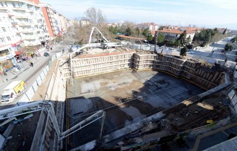 Çelebiler Otopark inşaatı hızla devam ediyor!