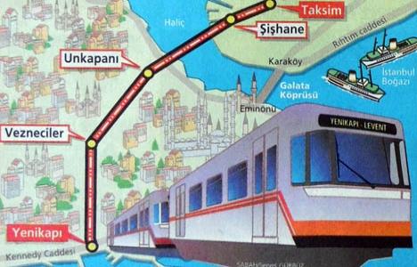 1998 yılında Taksim-Yenikapı