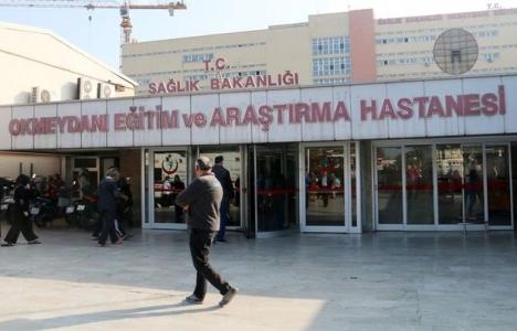Okmeydanı Hastanesi'nin istinat duvarı çöktü!