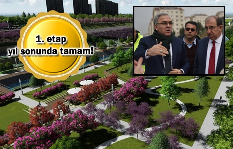 TOKİ Kayaşehir'de 1.5 milyon metrekarelik park inşa ediyor!