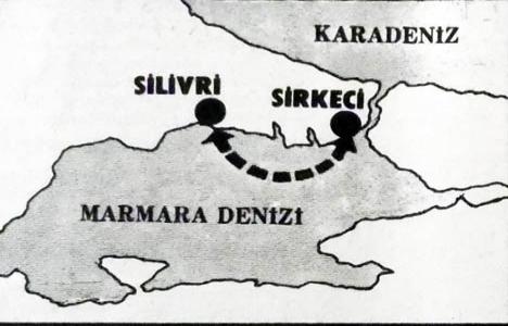 1982 yılında Silivri-Sirkeci