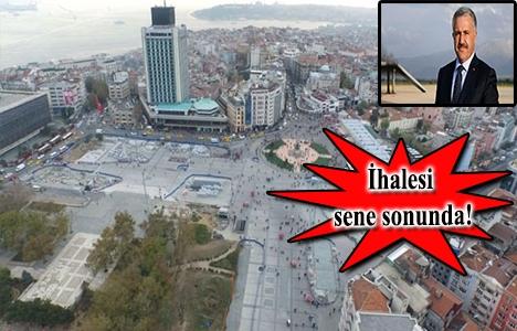 Taksim'e 3 katlı