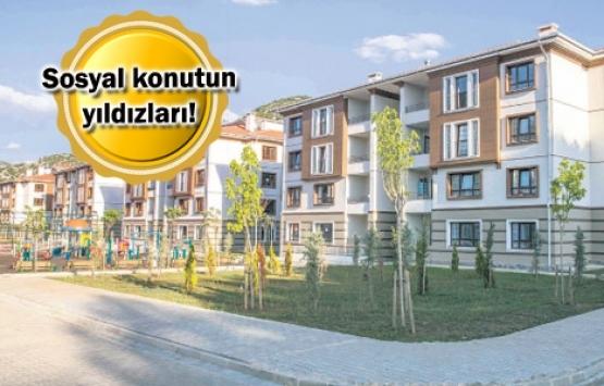 Sosyal konutta gözde İstanbul, sürpriz Bursa!