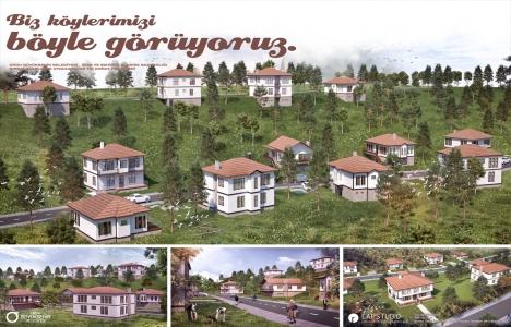 Ordu'da köy evleri