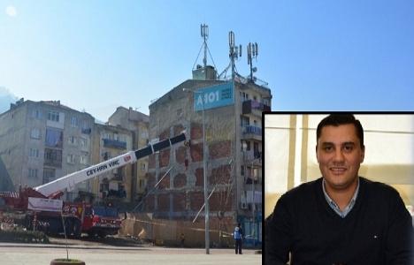 Manisa Şehzadelerki 5 katlı apartman yıkımı nasıl olmalı